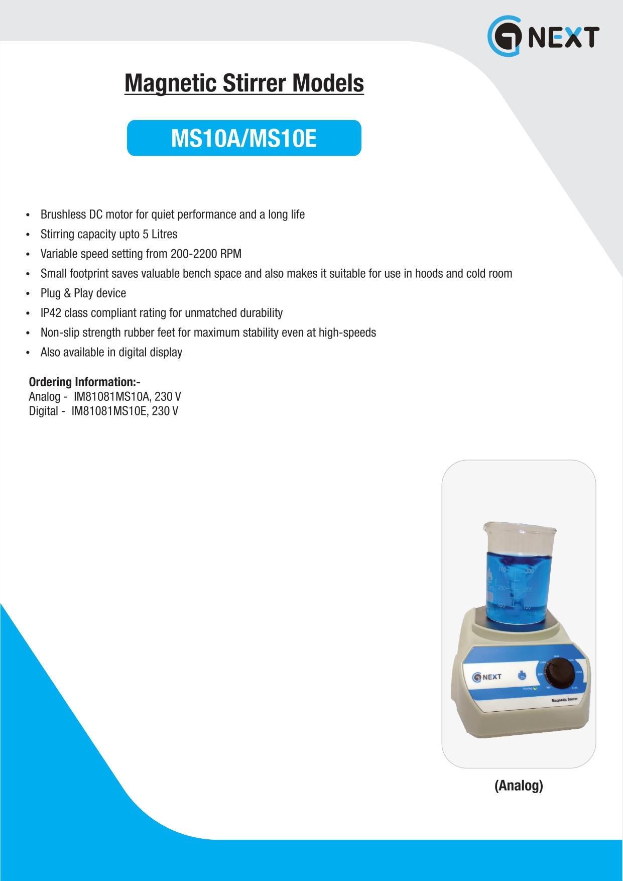 Analog Magnetic Stirrer