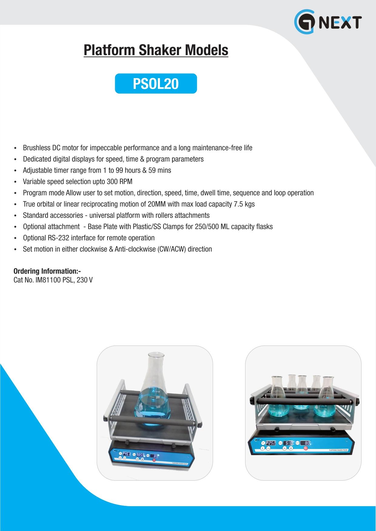 Platform Shakers